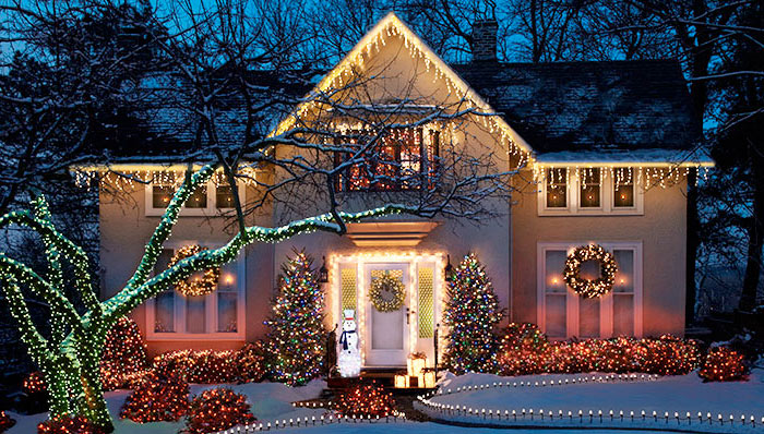 Holiday Home String Light Decorating Bulb Pros